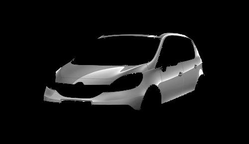 Цвета кузова Scenic Xmod